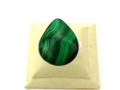 Malachit prsten