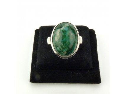 Chryzokol prsten