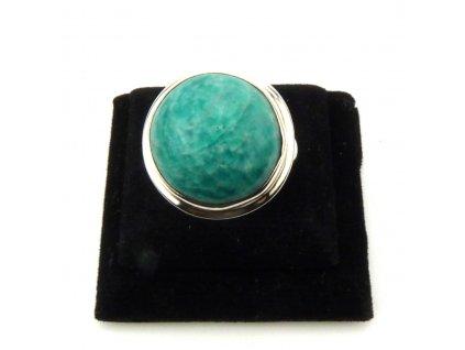 Amazonit prsten