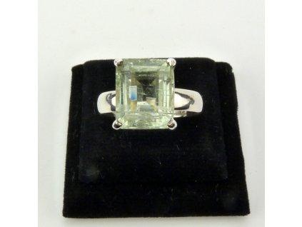 Akvamarín prsten