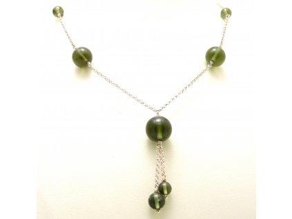 Vltavín náhrdelník
