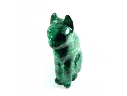 Malachit kočka
