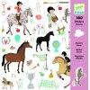 Koně samolepky