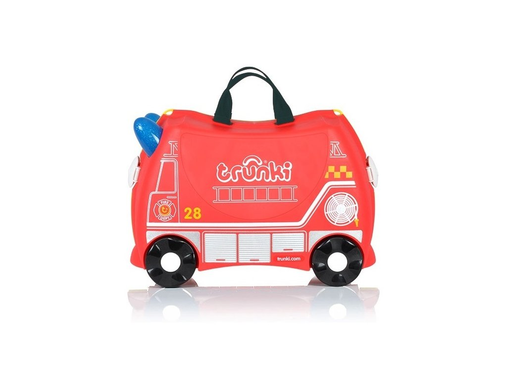 Dětský kufřík a odrážedlo pro kluky, Trunki