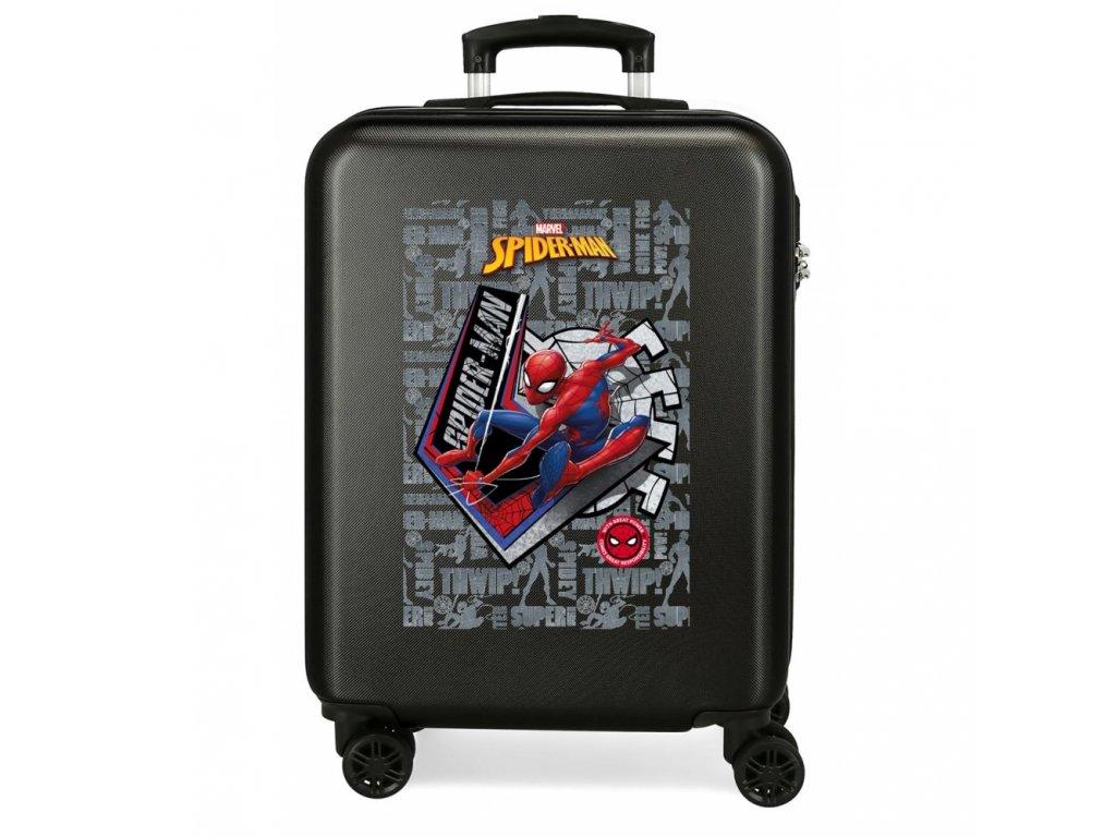 Skořepinový cestovní kufr Spider-man