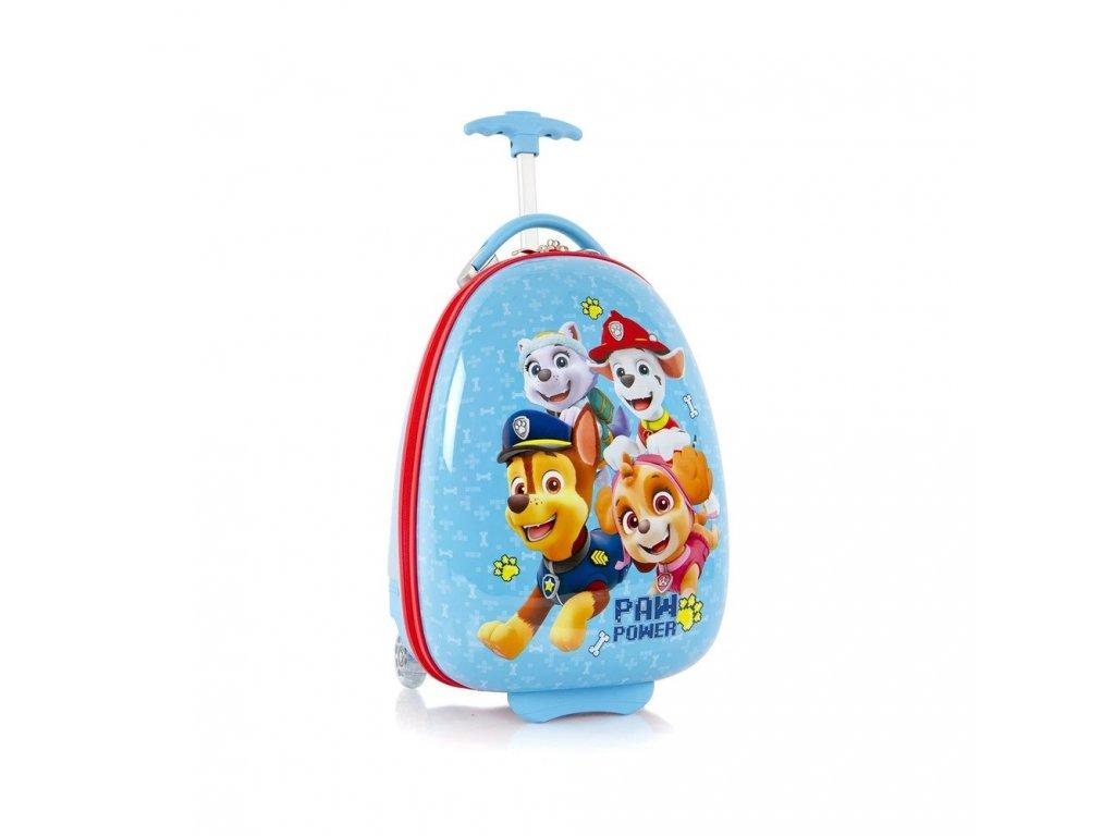 Dětský kufr HEYS KIDS Tlapková Patrola, modrý