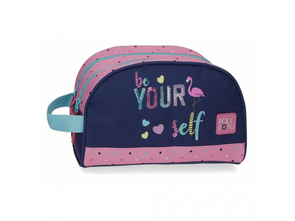 Kosmetická taška Roll Road BE YOURSELF