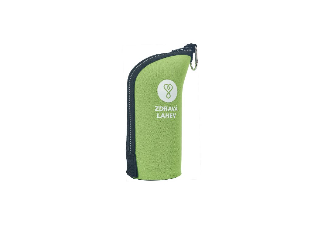 Zdravá lahev  termoobal 0,5 zelená
