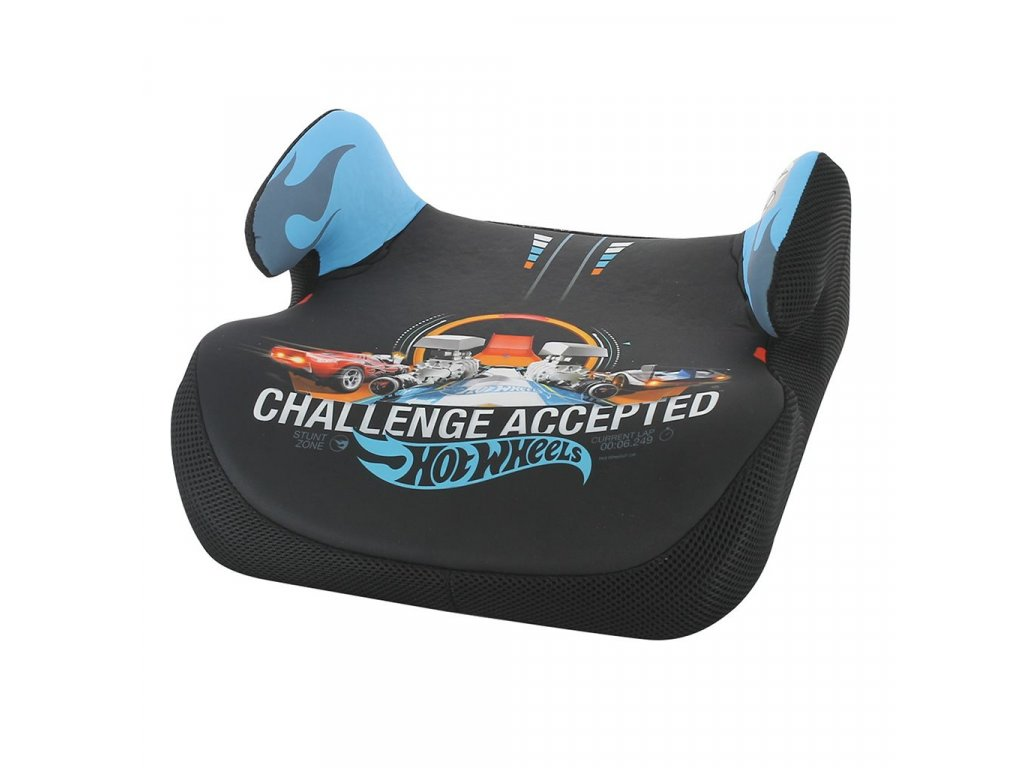 Podsedák do auta Nania Topo Comfort Hot Wheels blue 2020