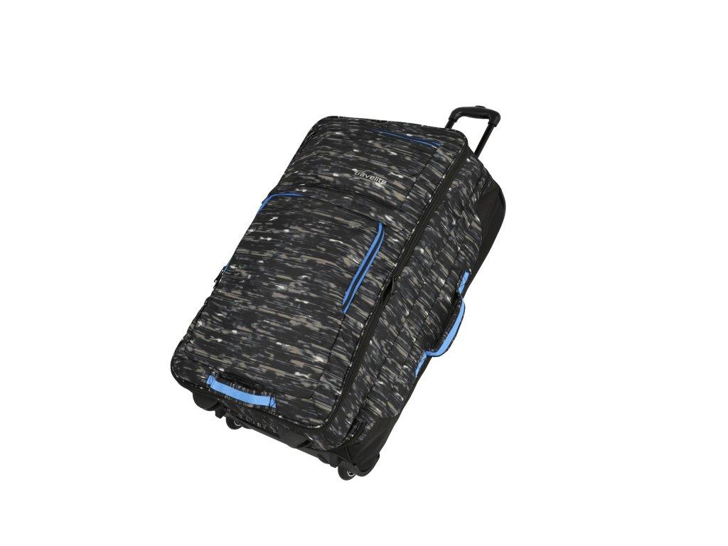 Cestovní taška na kolečkách TRAVELITE BASICS DOUBLEDECKER BLACK, černá