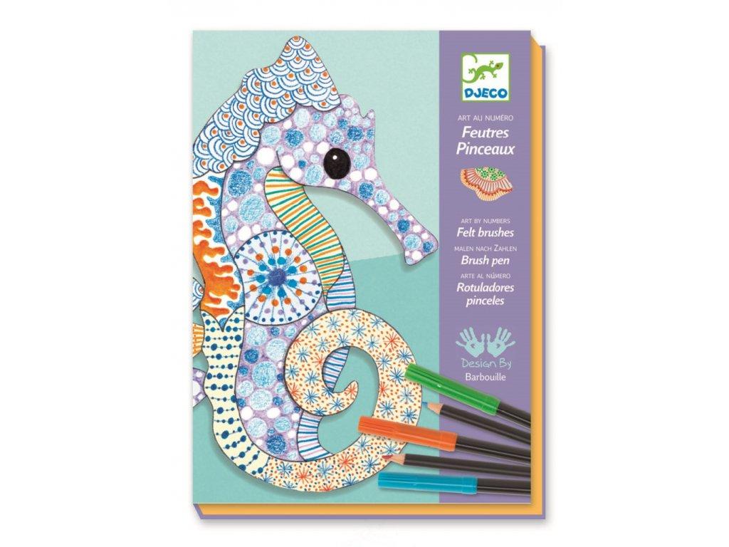 Výtvarná sada Motif Art - zvířata, Djeco