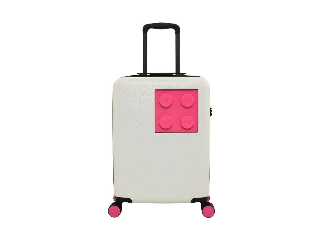 LEGO kufr URBAN - Bílý/Světle fialový, 40 l
