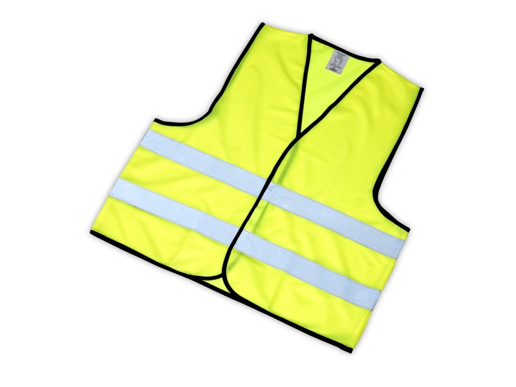 Reflexní vesta pro dospělé žlutá