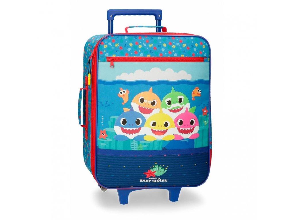 Dětský textilní kufr Baby shark