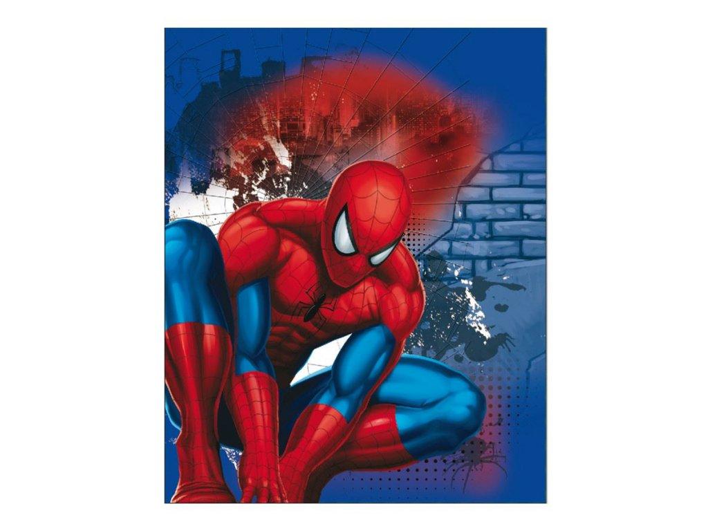 Dětská deka Spiderman 120 x 150 cm