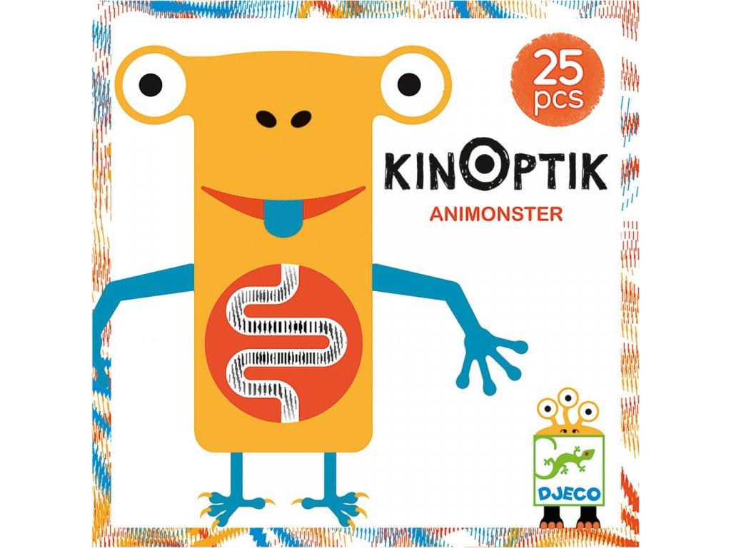 Djeco Kinoptik Animonster / Příšerky