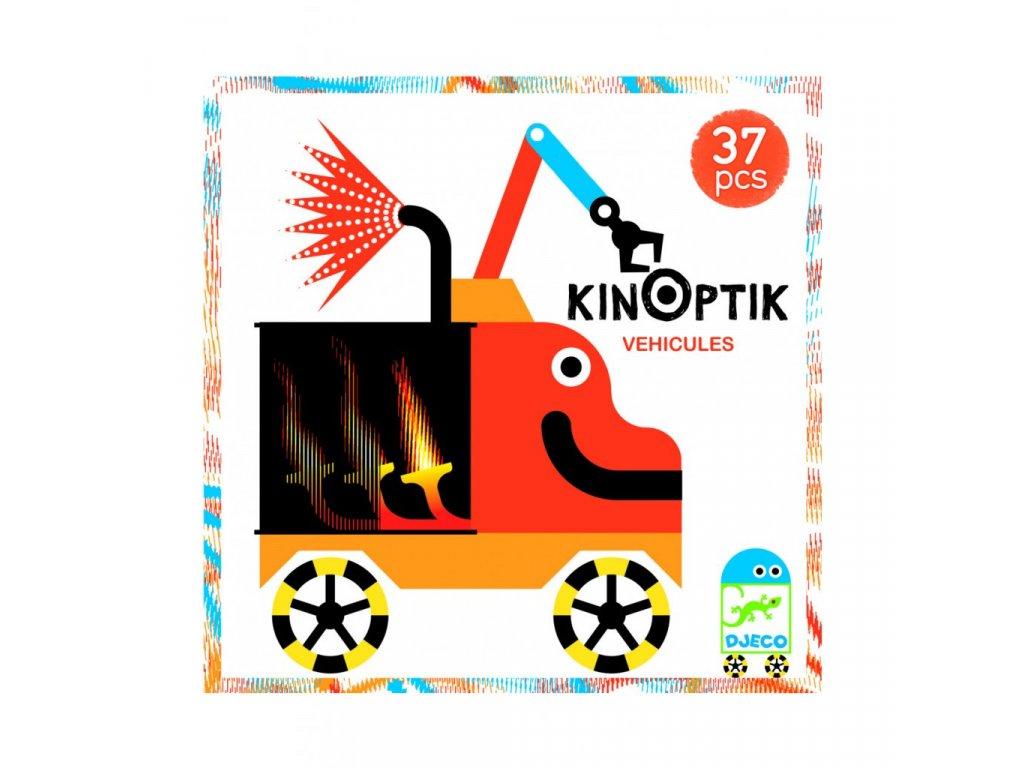 Djeco Kinoptik Auto magneticka skladacka