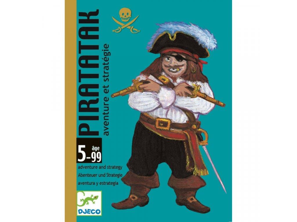 Karetní hra Útok pirátů Djeco