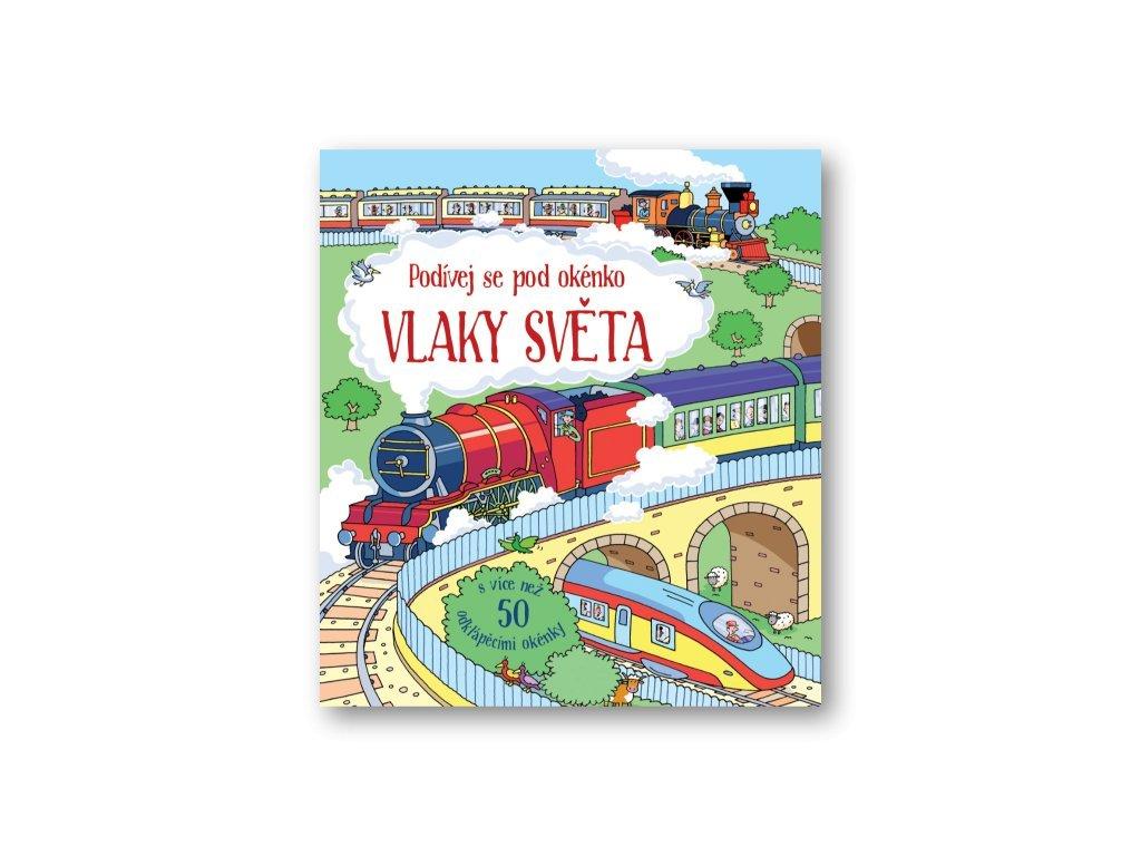 Vlaky světa detska kniha