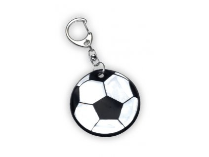 Reflexní přívěsek fotbal míč