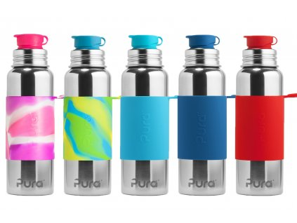 Pura® nerezová láhev se sportovním uzávěrem 850 ml