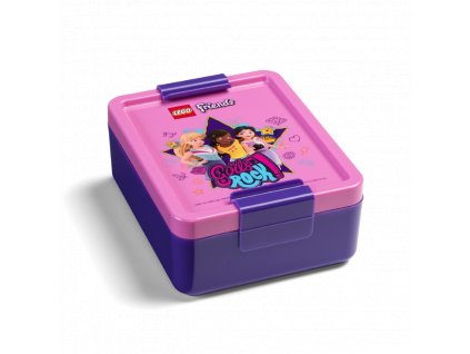 LEGO Friends Girls Rock box na svačinu - fialová