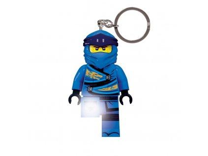 LEGO Ninjago Legacy Jay svítící figurka, přívěsek na klíče