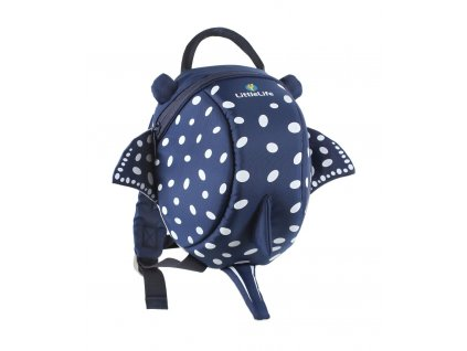 Animal Toddler Backpack Recycled; 2l; stingray