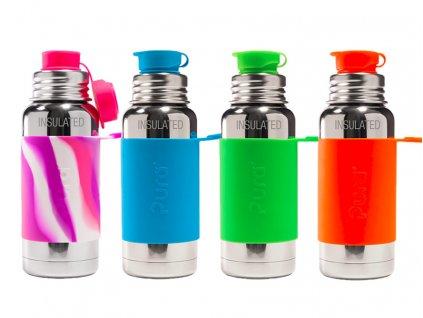 Pura® TERMO láhev se sportovním uzávěrem 475 ml, 0,5 l