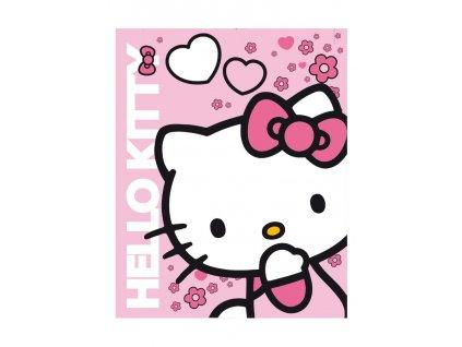 Dětská deka fleece Hello Kitty