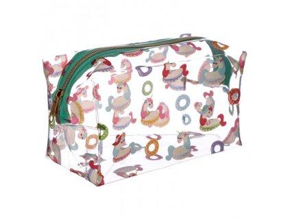 Kosmetická taška jednorožec 04