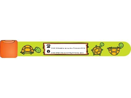 Identifikační náramek želva