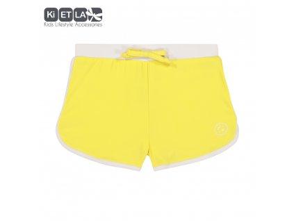 Kietla plavky s UV sortky Zlutá