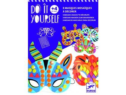 DIY Masky zvířata jungle