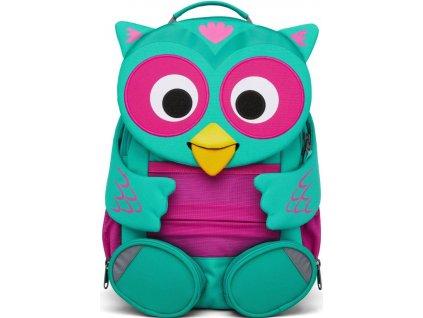 Dětský batoh Affenzahn pro holky sovička, sova, předškolní batoh