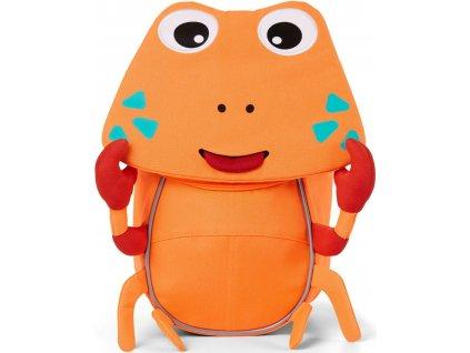 Dětský batůžek Affenzahn krab - neon oranžová pro nejmenší děti