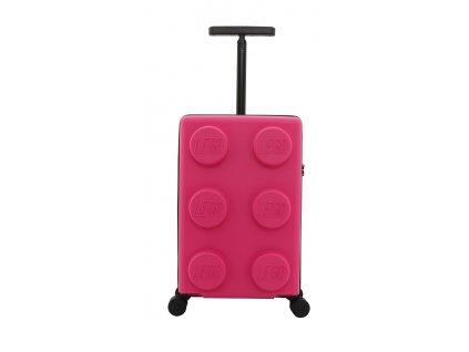 LEGO kufr Signature světle fialový, růžová