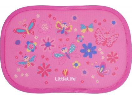 Sluneční clona do auta růžová, motýlci,Car Sun Shades; butterflies