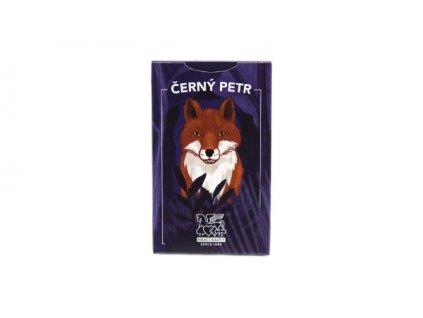 Černý Petr zvířátka liška