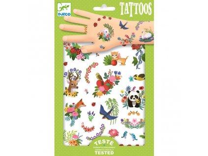 Tetovačky Šťastné jaro zvířata