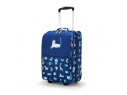 Dětský kufr REISENTHEL ABC modrá zvířatka