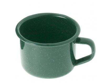 Smaltovaný plecháček 118 ml zelený, malý