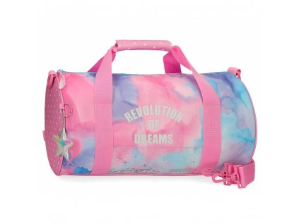 Cestovní taška Movom Revolution Dreams růžová