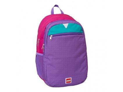 LEGO Pink Purple batoh Extended fialová
