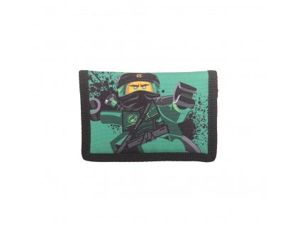 Peněženka LEGO NINJAGO Lloyd zelená