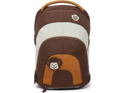Dětský batoh Affenzahn Daydreamer hnědý opička
