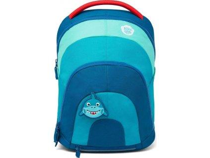 Dětský batoh Affenzahn Daydreamer petrol žralok modrý do školky