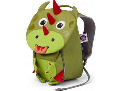 Dětský batůžek Affenzahn Dragon small - green