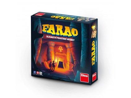 Rodinná strategická hra FARAO Tajemství prastaré hrobky 01
