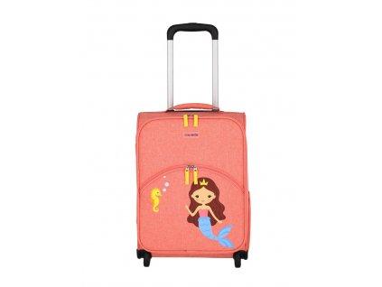 Dětský kufr Travelite 2W Mořská víla 02